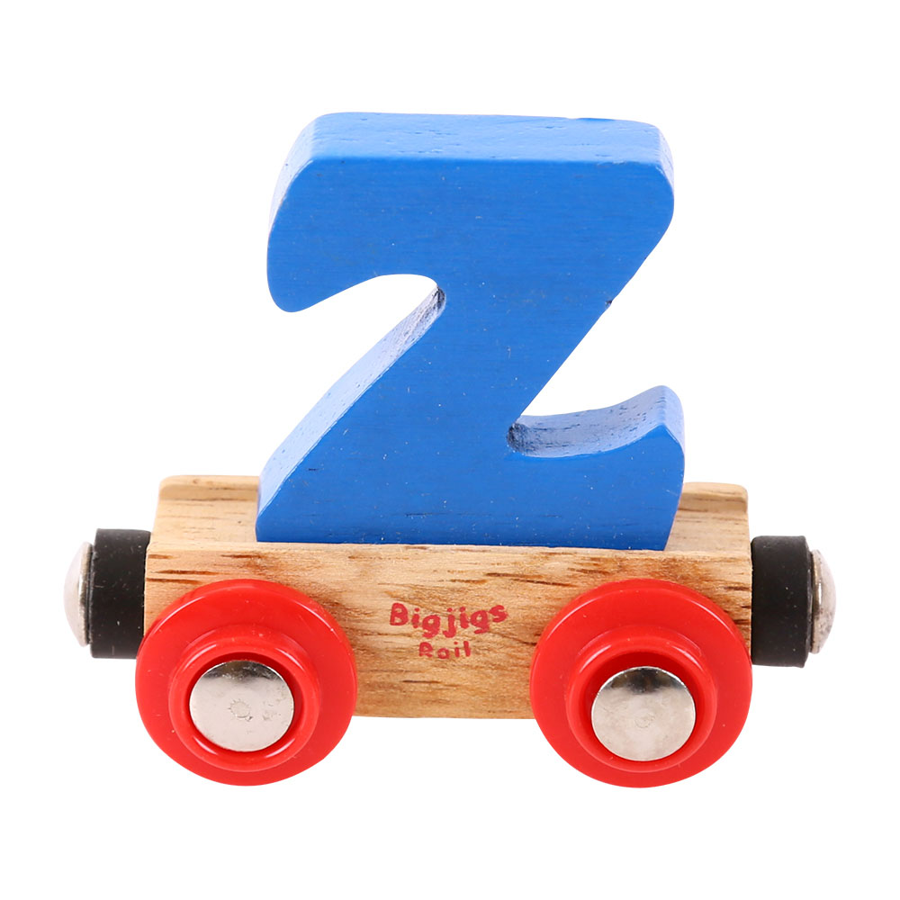Magnetic Wooden Train Name