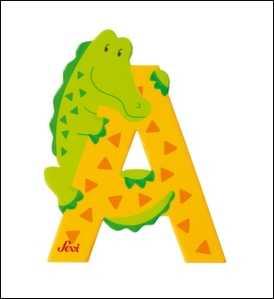 Fun animal letters